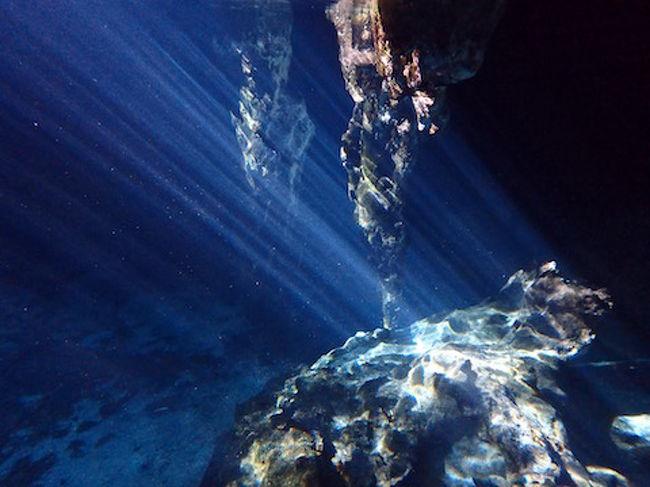 抜群の透明度を誇るセノーテはメキシコの有名観光地となっておりまして、<br />私はその中で3つのセノーテに行ってきました。<br /><br />