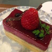 ケーキセットを食べに秋田ビューホテルに行く
