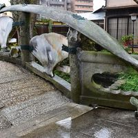 くじら橋と堀川戎神社の十日戎(大阪)