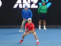 2017.1 全豪オープンテニス観戦とメルボルンの旅④ 3回戦♪
