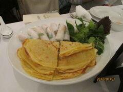 ハノイの夕食(ベトナム料理)