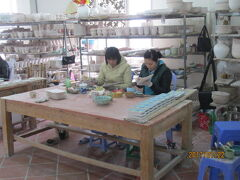 ハノイのバットチャン村・陶器の村