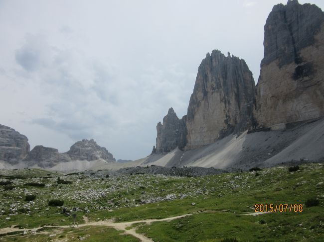 チロル・ドロミテのハイキング12日間 ⑥(ラヴァレードのトレ・チーメ)