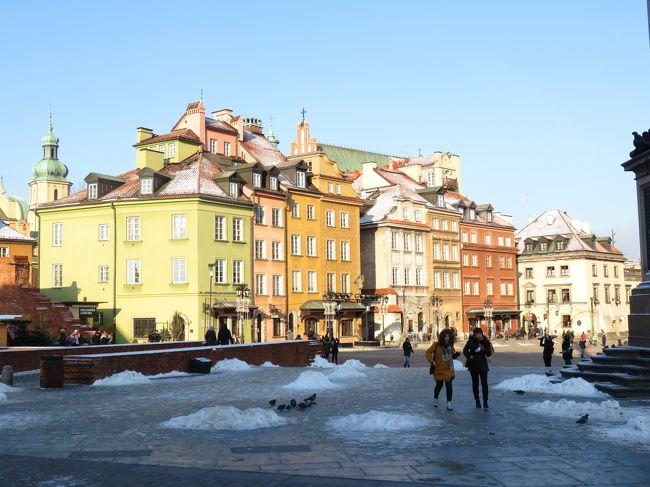 ショパンが半生を過ごし、キュリー夫人が生まれたワルシャワに戻って来ました。<br />大戦により町の大半が破壊されたそうですが、記録などで忠実に復元されたそうです。