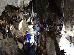 ラオスの「パクオーケイブ」と言う石窟