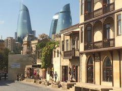 今がいきどき??! コーカサス3国  アゼルバイジャン・ジョージア・アルメニアを駆け抜ける旅 バクーの街をあてもなく歩く編