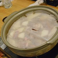 四谷三丁目 荒木町 桃太郎で 野菜鍋を堪能 2017年2月