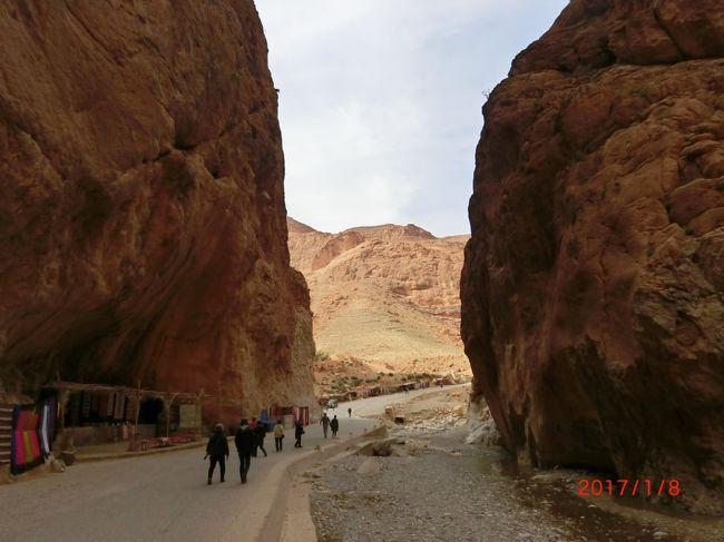 初アフリカはモロッコ6泊周遊ツアー(No4. カスバ街道)