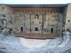年末年始のフランス #15 - 南仏オランジュ、元旦は古代ローマ劇場の街で