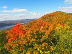 カナダ旅その8 メイプル街道 ロレンシャンの鮮やかな紅葉!