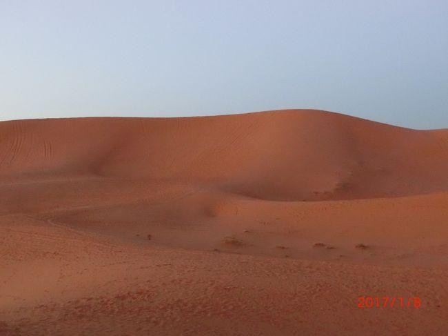 初アフリカはモロッコ6泊周遊ツアー(No5. サハラ砂漠)