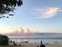 グアム1日目。イパオビーチとボリュームハンバーガー。