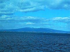 多比良港⇒長洲港フェリー「有明きぼう」 バスで乗船 横断45分 ☆カモメが飛来し給餌も