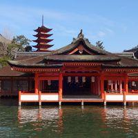 宮島・広島・錦帯橋、何と四十数年ぶりに中学校の修学旅行コースの一部を訪問!3日目(最終日、2017年元旦)は、宮島(厳島神社)に初詣。