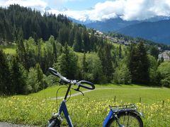 2016年6月スイス-3 ニーダーホルンでトロッティ&ミューレンでハイキング