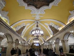 初!アエロフロートで、真冬のパリ&モスクワへ。一日だけのモスクワ編。