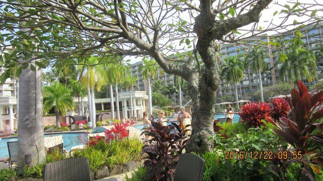 カウアイ島:  一日目3  Pride of America号ハワイ四島クルーズ <br /><br />なかなか、立派な施設ですから、<br />この種の宿泊設備にはじめてきたら、購入してしまう危険性が有ります。<br /><br />内部の庭園程度しか停泊地近辺には見るものが無いです。<br /><br /><br />ハワイでの津波時のサイレン音<br />https://hajimete.hawaii-g.com/hawaii-tsunami-information/