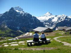 2016年6月スイス-5 フィルスト展望台に感動&グローセシャイデックをサイクリング
