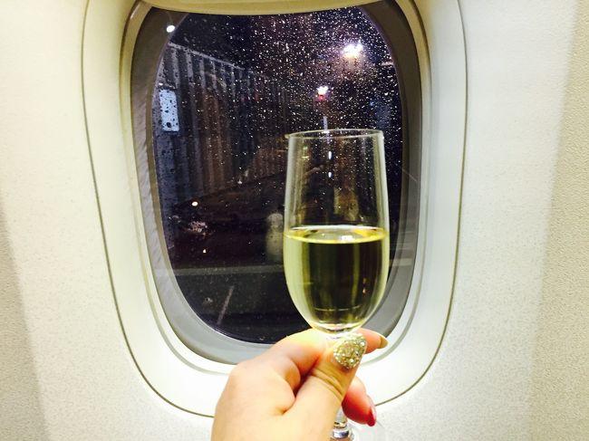 2017年2月 Fクラスで行く初シドニー一人旅~ vol.1♪~セントレアから飛行機のはずが新幹線で成田空港へ( ゚Д゚)~Fクラスラウンジ~Fクラス機内編~