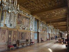 パリ~アルザス・ドライブ #30 - 番外編、豪華なフォンテーヌブロー宮殿 1