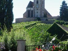 アルザスワイン街道を行く 12.ワイン畑に囲まれた美しき村、ユナヴィール