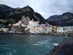 【2013年冬】寒い季節に南欧へ【その2】冬の海はつらいカプリ島とアマルフィ海岸