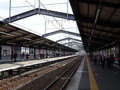大阪城公園(5)完 帰りは大阪城公園駅からJRで伊丹駅へ。