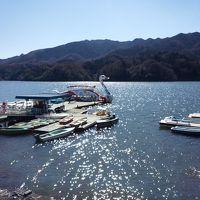 相模湖と小原宿