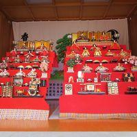 越谷の香取神社でお雛様を見てから梅を見に越谷梅林公園へ