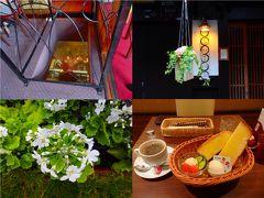 2月の風景を彩る花々を巡る~その前にフレンチビストロでランチその後にカフェでモーニング~