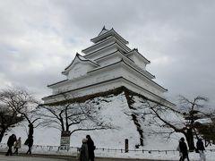 会津若松へ! その2 冬の会津鶴ヶ城へ。