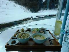 冬のほくほく線&飯山線【その2】 まつだいで地元の食材を食す