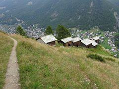 牛飼い憧れのスイス、ツェルマットの街を見下ろして(6日目午後、帰国まで)