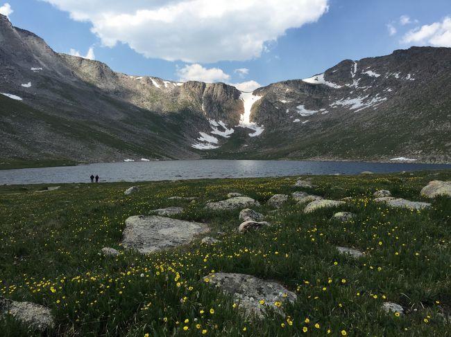 歩ingとは名ばかりの旅行記をしばらくアップしてきましたが、今回はガチの歩き旅です。<br />その舞台は、ロッキー山脈。<br /><br />ロッキー山脈と言えば「カナディアン・ロッキー」を思い浮かべる人が多いですが、北はカナダ・ブリティッシュコロンビア州の最北部から、南はアメリカ合衆国ニューメキシコ州の州都サンタフェの近くまでの4,800kmを超える北米大陸西部を走るとても長い山脈なのです。<br /><br />この旅で訪れたのは、アメリカ合衆国コロラド州にあるロッキーマウンテン国立公園。<br />国立公園内のトレイルを何本か歩いて高度順応を行なってから、ロッキー山脈の最高峰Mt.Elbertを登ります。<br /><br />第1幕「ロッキーマウンテン国立公園へ行く」では、ロッキマウンテン国立公園のゲートシティー「エステスパーク」までの行程を紹介します。
