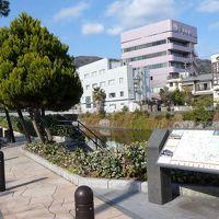 松川遊歩道の散策(なぎさ橋〜大川橋)