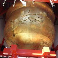 日本一大きい鈴がある神社