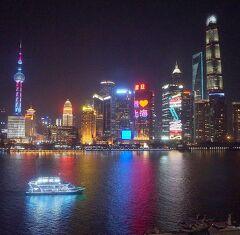 団塊夫婦の絶景の旅・2017中国ー(6)上海の夕景・夜景・日の出に酔いしれる