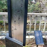 松川遊歩道の散策(いでゆ橋〜通学橋)