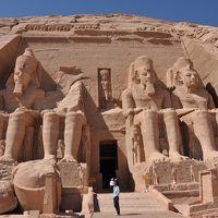 感動のエジプト!その6 < アブ・シンベル神殿 >
