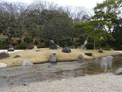 万博公園へ春を探しに出かけました(6) 日本庭園 洲浜。