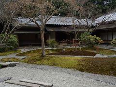 万博公園へ春を探しに出かけました(7) 日本庭園 茶室「汎庵・万里庵」のお庭。