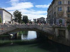 16年夏休み~クロアチア周遊二週間プラスαの旅★14 とっても住み心地がよさそうなリュブリャーナの街