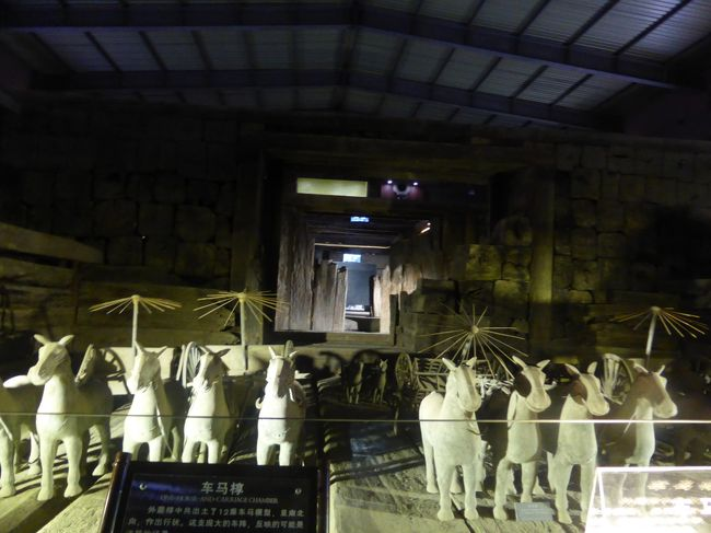 2歳10ヶ月の娘を連れて中国江蘇省5日間の旅4-ほぼ貸し切りな漢広陵墓博物館