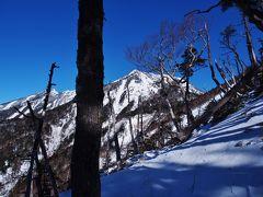 積雪期女峰山黒岩尾根 / 女峰のかーちゃんは厳しい