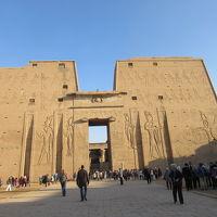 行って良かったエジプト夢紀行(5)エドフ〜コムオンポ~アスワン をクルーズ ホルス神殿、コムオンボ神殿 を見学