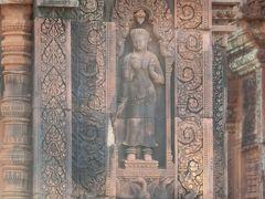 2017冬 カンボジア11:世界遺産アンコール遺跡 バンテアイ・スレイ「東洋のモナリザ」