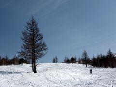 根子岳スキーハイク。
