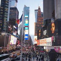 ニューヨーク マンハッタン旅行記(観光船、ブロードウェイ、タイムズスクエア、キャリーの家、ブルックリン橋、ダンの家、チャージングブル、ニューヨーク証券取引所、トリニティ教会、ワンワールド展望台、セントラルパーク、メトロポリタン美術館、ラルフズカフェ、セントパトリック大聖堂、ニューヨーク市立図書館)
