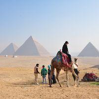 感動のエジプト!最終章 < ギザ・三大ピラミッド > と < モハメッドアリモスク >