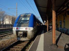 Avignon Centre 駅に列車を見に行く。なにせ,鉄道好きですので。